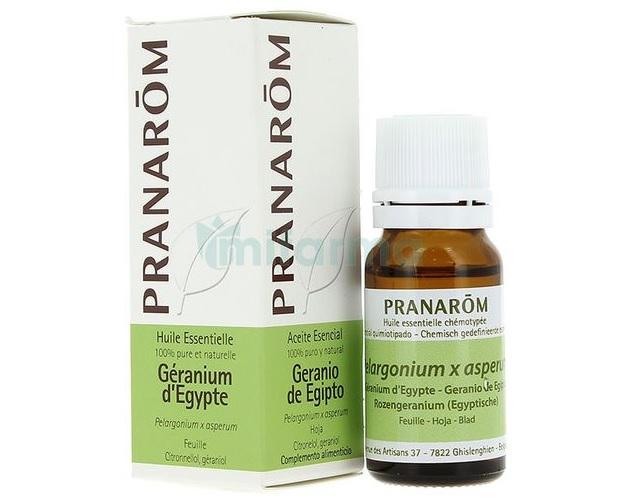Aceites esenciales antienvejecimiento. Aceite de geranio