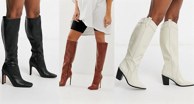 Comprar online botas altas. Prendas básicas en el armario