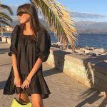 La ropa negra en verano