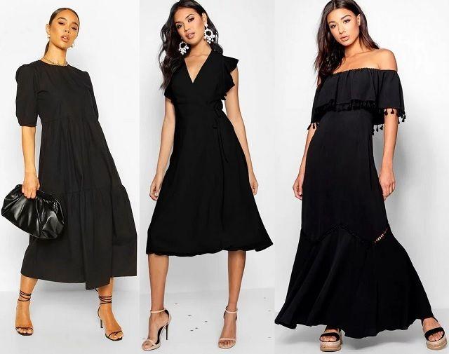 Comprar online vestido negro de verano