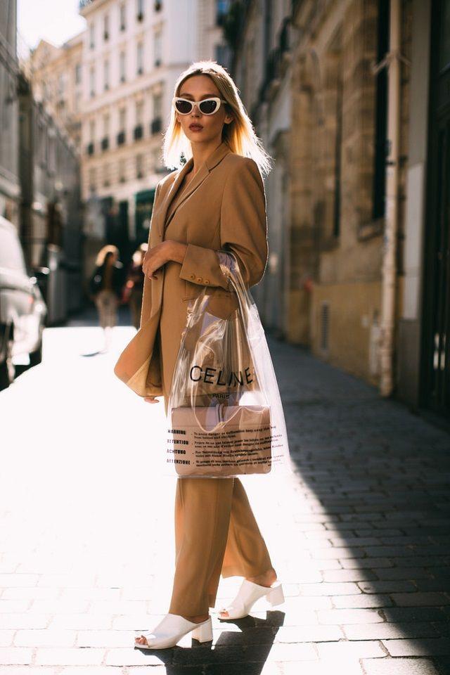 Estilo francés de vestir. Colores neutros, comodidad