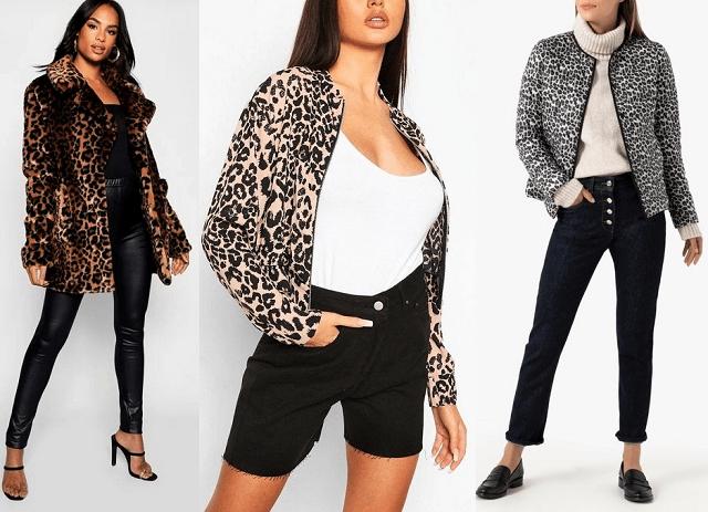 Abrigos y chaquetas con estampado de leopardo 2020