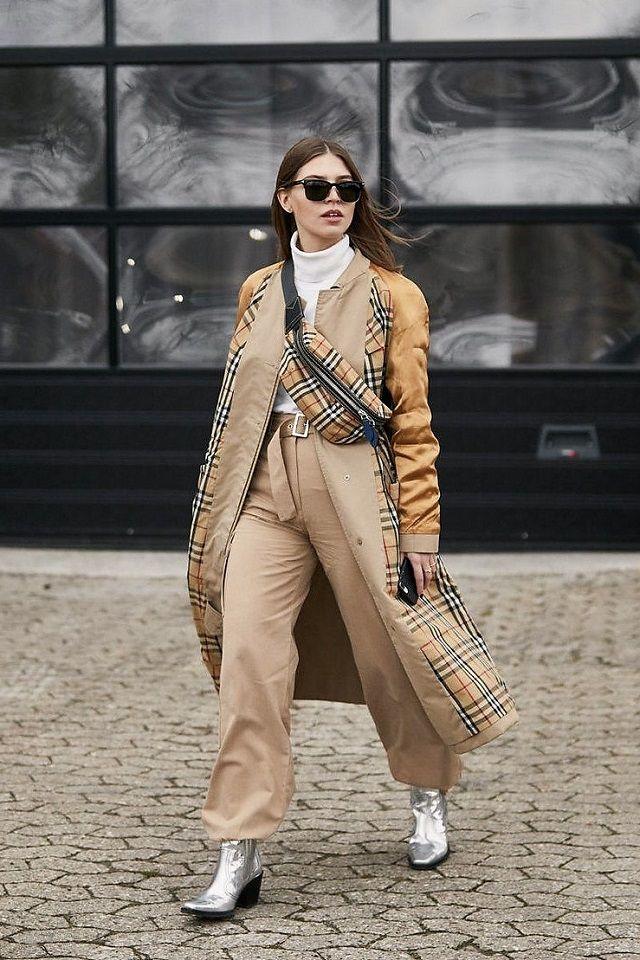 bolsos con cuadros tartán Street Style