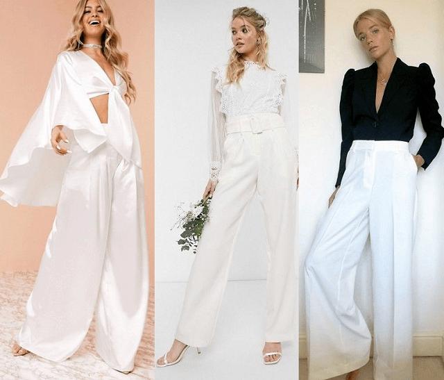 comprar online pantalones blancos para ocasiones especiales