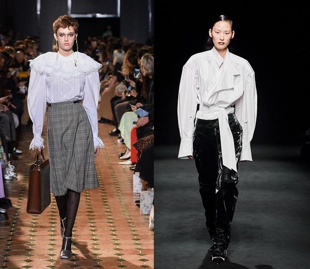 Pasarela Fall2020: Camisa blanca