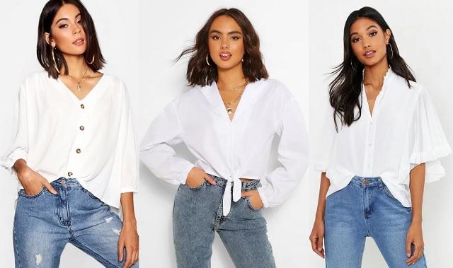 comprar online camisas blancas de estilo casual 2020-2021