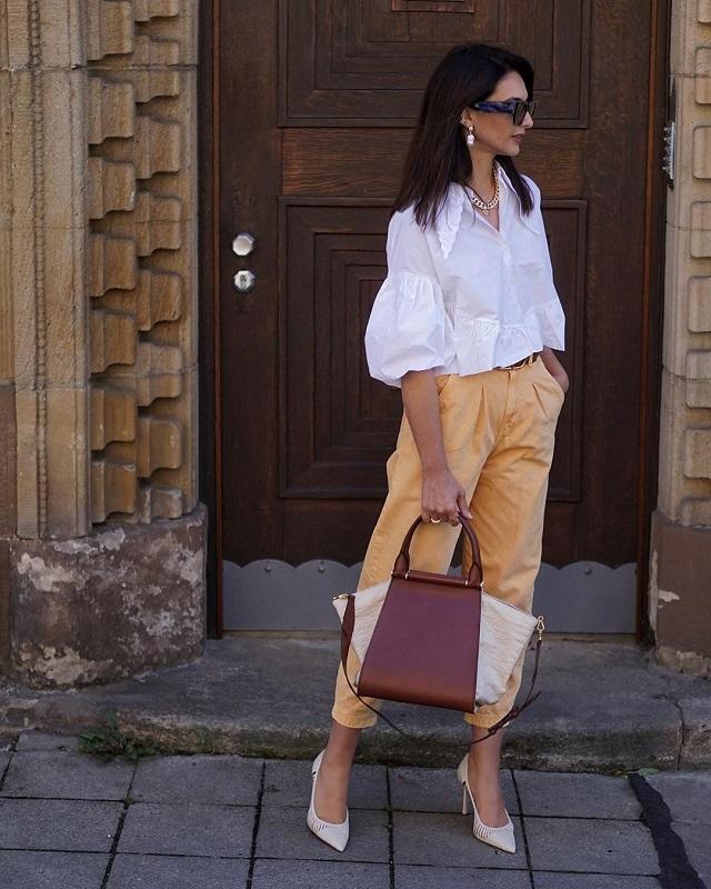 Ideas de look con camisa blanca en el street style