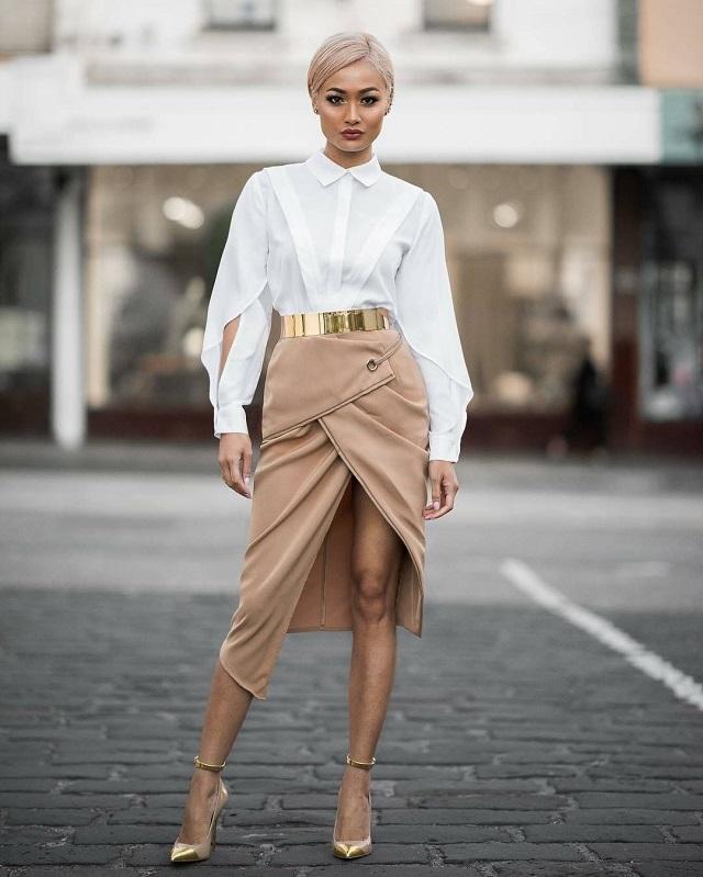 Ideas de outfits elegantes. Lo mejor de street style