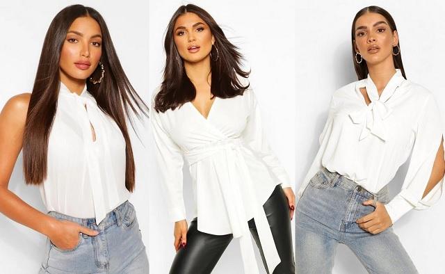 Comprar online blusas blancas con lazada