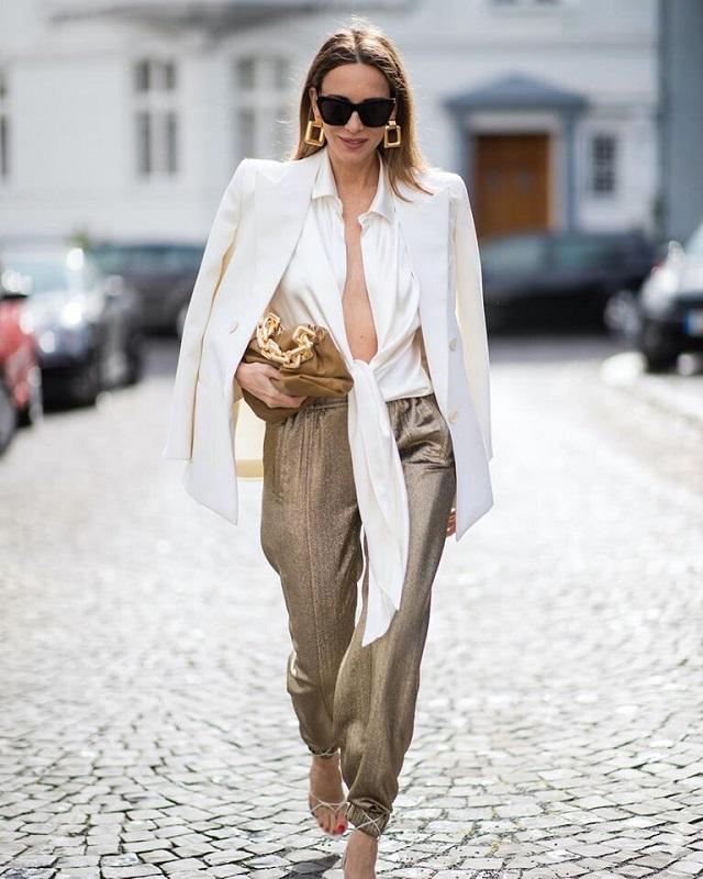 Ideas de look con camisa blanca. Lo mejor de street style