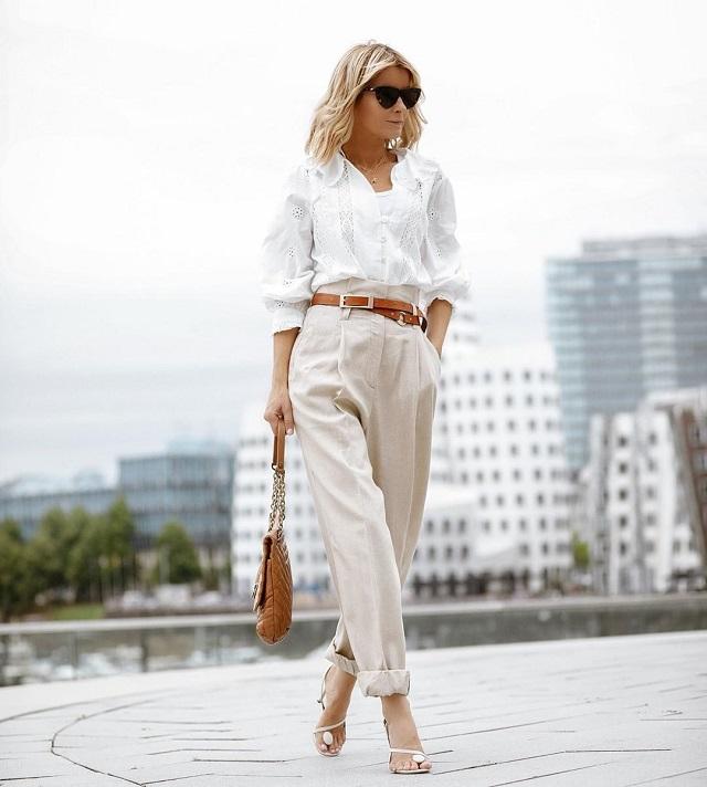 Los modelos de camisa blanca más actuales en otoño-invierno 2020-2021