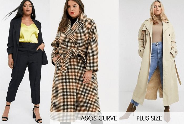 """Tipo de cuerpo """"manzana"""": chaquetas y abrigos Curve"""