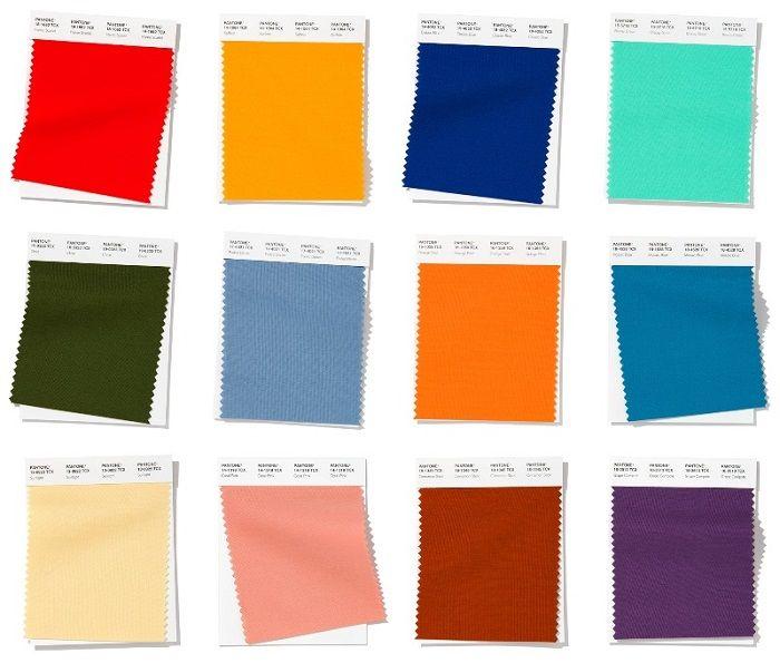 12 principales colores para primavera-verano 2020
