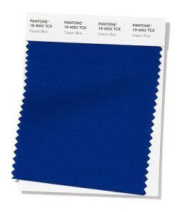 Azul el color del año 2020