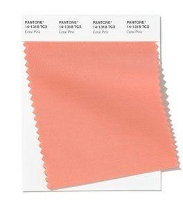 Color rosa coral primavera-verano 2020