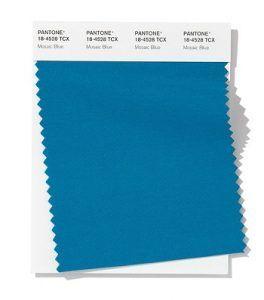 Color azul turquesa primavera-verano 2020 (Mosaic Blue)