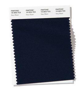 Color básico primavera-verano 2020 Azul Marino