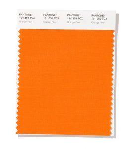 Color Naranja primavera-verano 2020