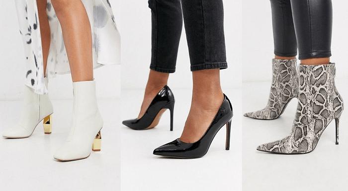 "Zapatos para la figura ""manzana"""