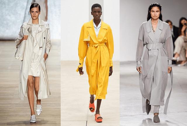 Moda primavera-verano 2020: gabardinas
