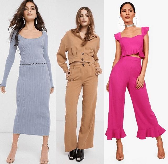 Conjuntos en colores de moda primavera-verano 2020