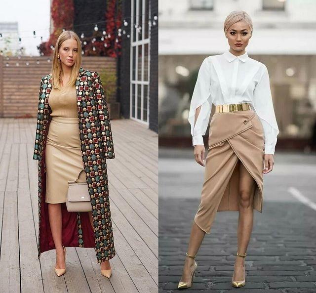 Faldas en el Street Style