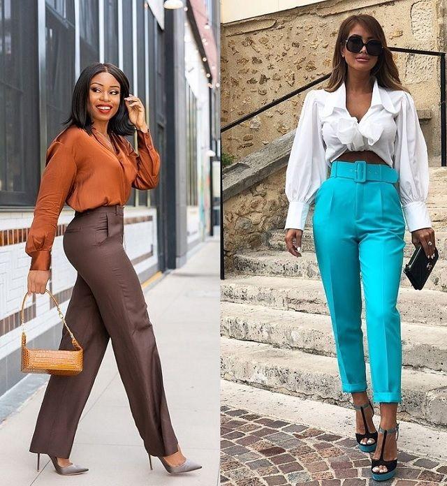 Pantalones en el Street Style