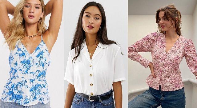 Comprar online tops y blusas