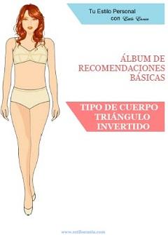 """Tipo de cuerpo """"Triángulo Invertido"""""""