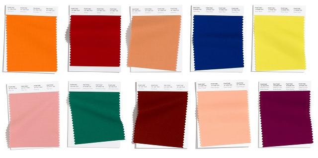 10 colores principales otoño-invierno 2020-2021