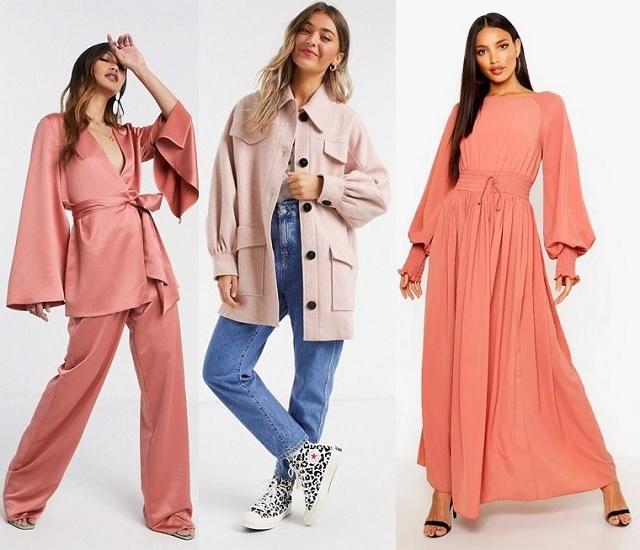 Prendas en color rosa empolvado comprar online