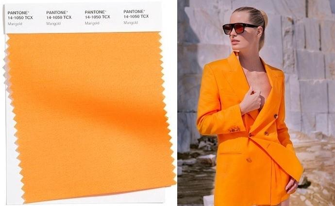 Color naranja (Marigold) 2021