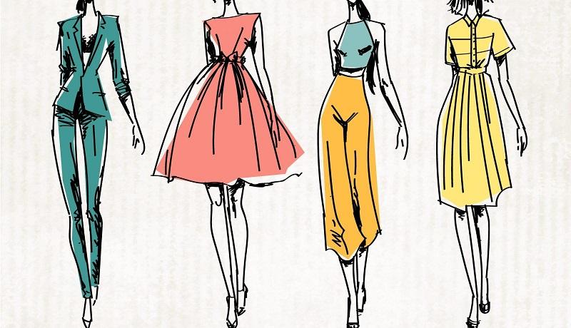 """siluetas, proporciones y longitud en la ropa para """"Reloj de Arena"""""""