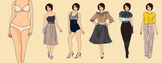 """Proporciones en ropa para figura """"Pera"""""""