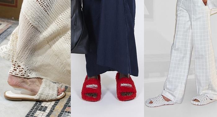 Zapatillas en la pasarela 2021