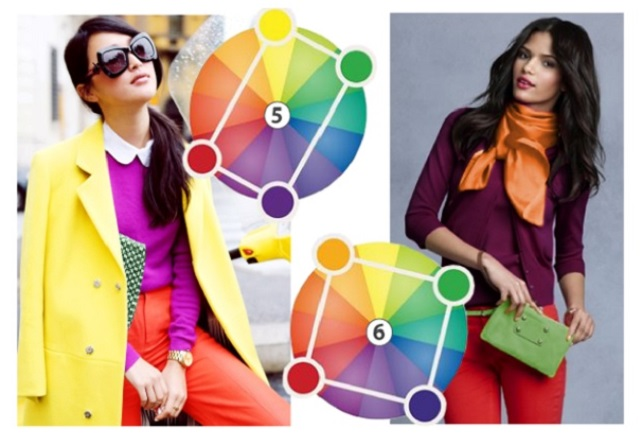 Combinación de colores armoniosa