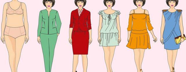 Proporciones en la ropa para tipo de cuerpo «Rectángulo»