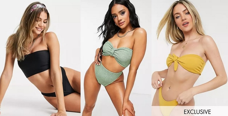 Bikinis bandeau comprar online
