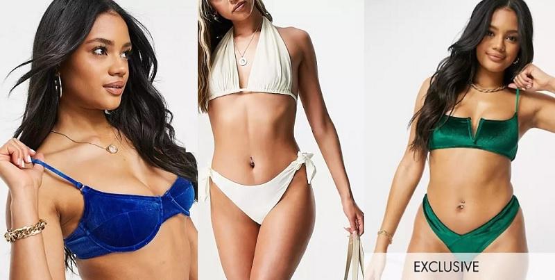 Bikinis de terciopelo comprar online