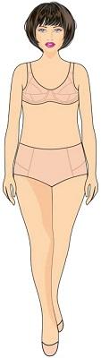 """Tipo de cuerpo """"Rectángulo"""""""