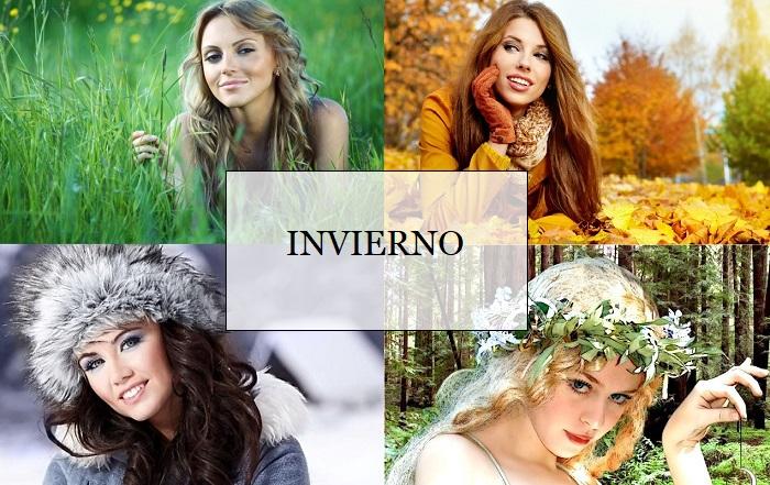 Teoría de 4 estaciones: Las mujeres Invierno