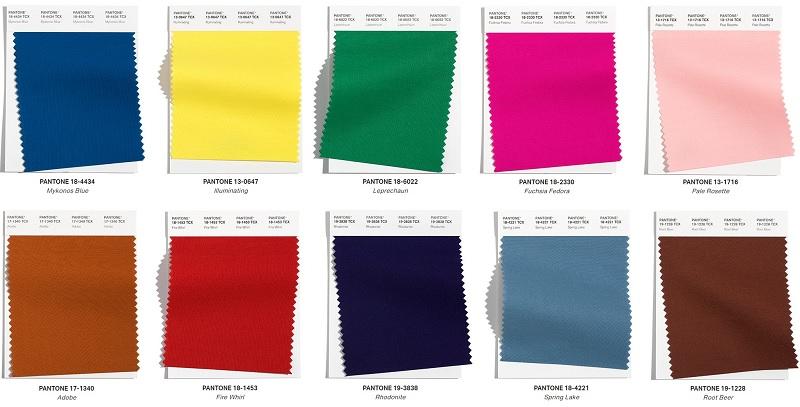 10 colores principales de moda otoño-invierno 2021-2022