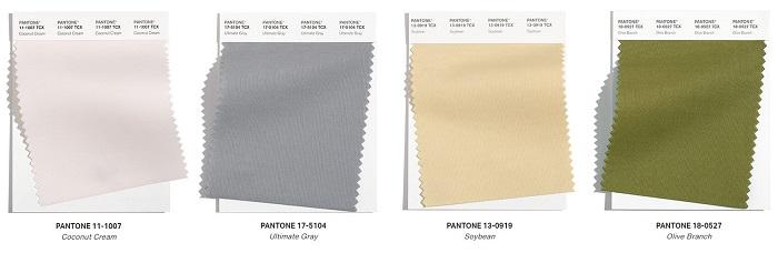 4 colores básicos pantone otoño-invierno 2021-2022