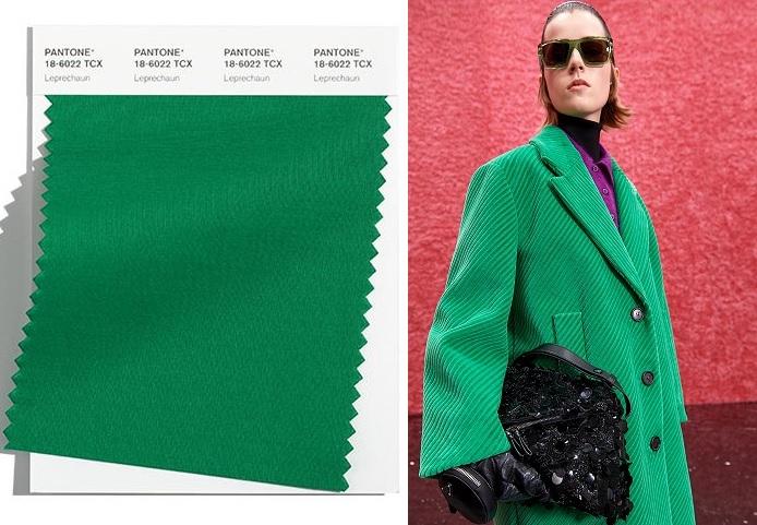 Tendencias de moda: color Leprechaun