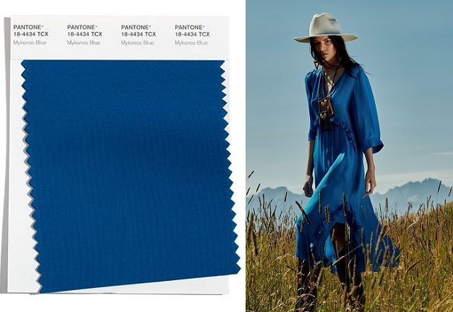 Color Mykonos Blue