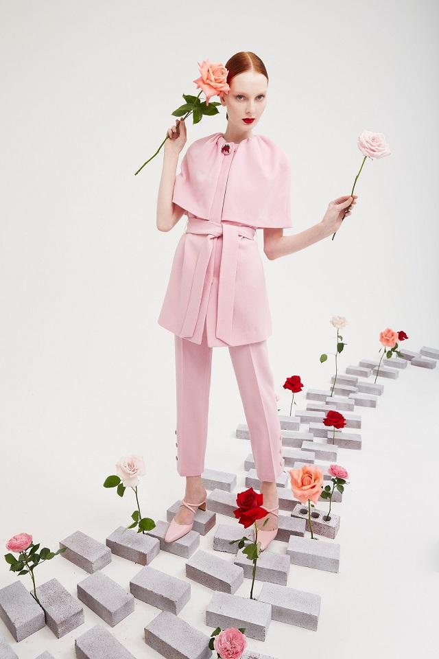 Color rosa en las colecciones 2022