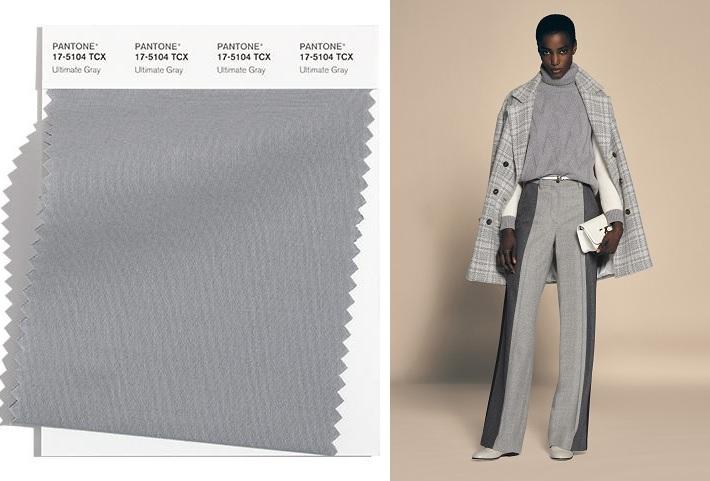 Color Ultimate Gray pantone 2022
