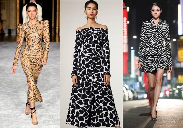 Animal print en las colecciones de moda