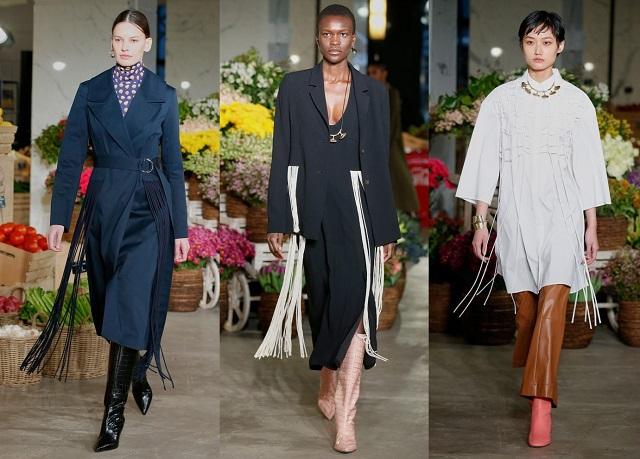 Flecos en colecciones de moda