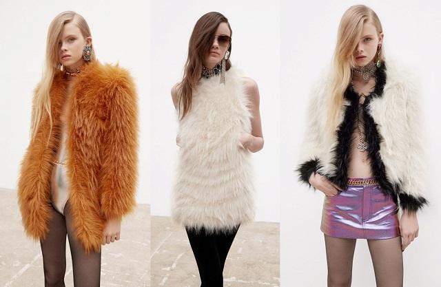 Piel sintética en las colecciones de moda